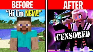 Minecraft Players THEN vs. Minecraft Players NOW