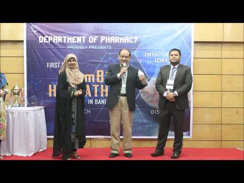 Dept  of Pharmacy, BRACU presents FIRST EVER ChemBio HACKATHON in BANGLADESH