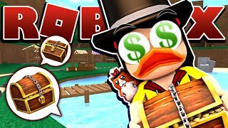 ALL I want are the GOLDEN CHESTS! - Roblox Epic Minigames - Disney DuckTales - DOLLASTIC PLAYS!