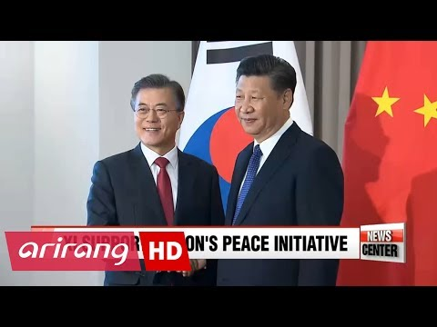Chinese President Xi Jinping throws support for South Korean President