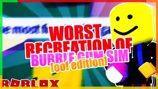 WORST RECREATION OF BBG🤣 || ROBLOX Game Review