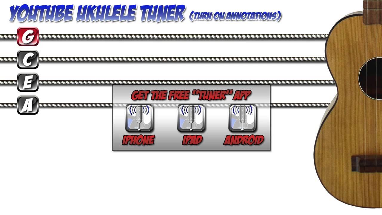 YOUTUBE UKULELE TUNER - YouTube