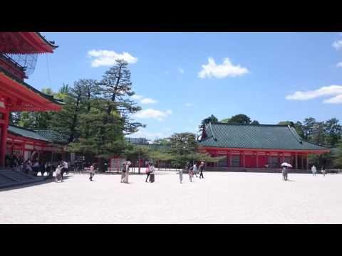 Heian Jingu court