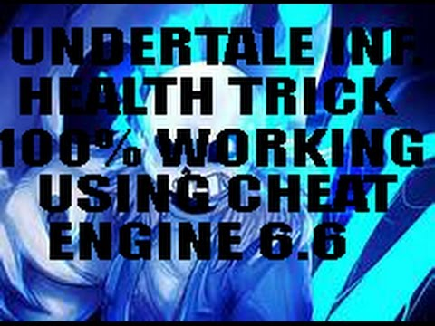 how to use cheat engine on undertale