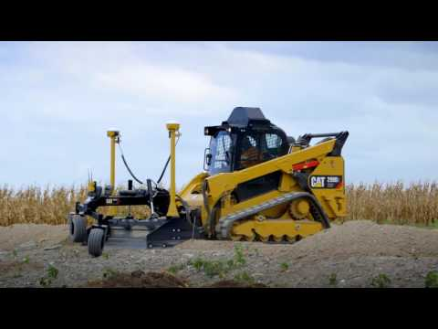 Cat AccuGrade Box Blade Attachment Overview