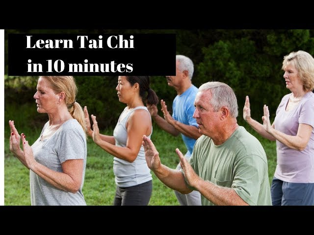 Tai Chi for Seniors Eps 1