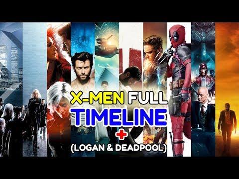 PENJELASAN LENGKAP TIMELINE X-MEN (NO SPOILER DARK PHOENIX)