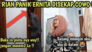 PRANK PACAR DISEKAP COWO ? RIAN PANIK BANGET !!