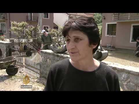 Balkan floods take lives and livelihoods