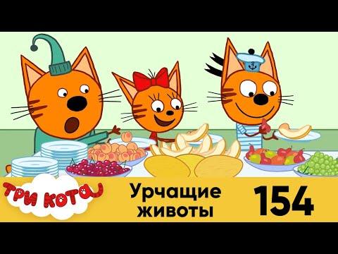 Три Кота | Урчащие животы | Серия 154 | Мультфильмы для детей