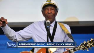 Rock 'n Roll legend Chuck Berry has died at age 90