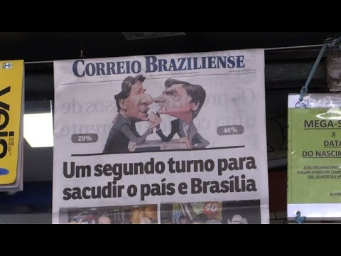 Brazilians torn between Bolsonaro, Haddad for second round