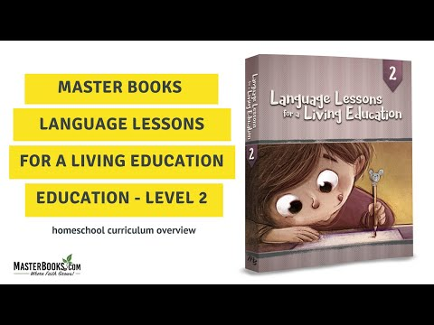 teaching-language-lessons-for-a-living-education-level-2-//-homeschool-curriculum-by-master-books