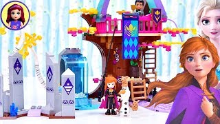 Frozen 2 Enchanted Treehouse LEGO Speed Build