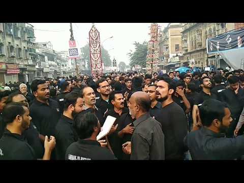 Lucknow azadari 2017-18 yum e chehlum heart teaching noha must watch