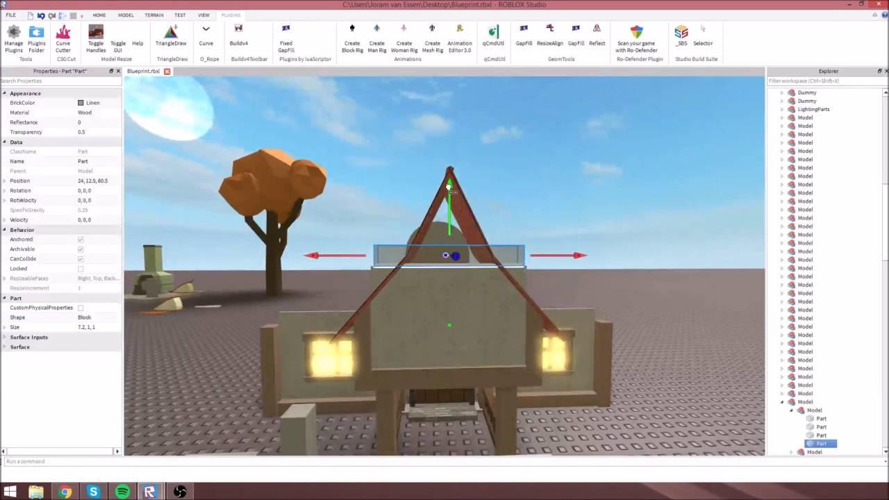 Roblox Speed Build Tiny House Youtube