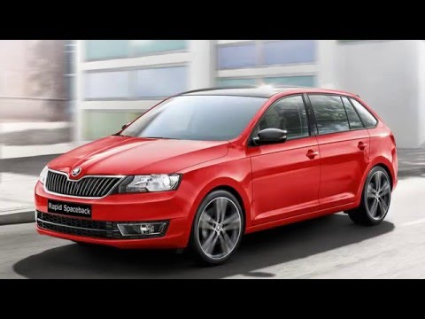 2017 skoda rapid spaceback two diesel engines review youtube. Black Bedroom Furniture Sets. Home Design Ideas