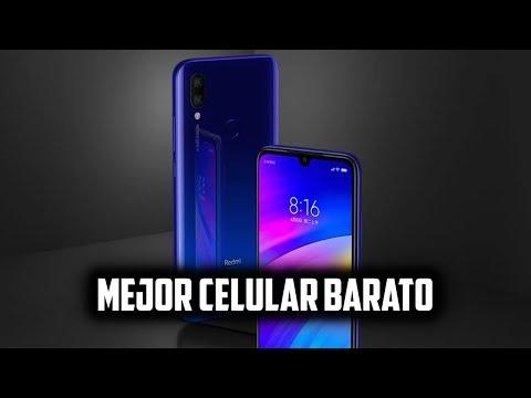 BUENO Y BARATO   REDMI 7 EL MEJOR CELULAR GAMA MEDIA BARATO CALIDAD-PRECIO 2019