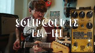 Writing With the SolidGoldFX: EM-III Multi Head Octave Echo