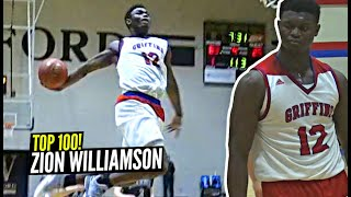 Zion Williamson Top 100 Plays!! *SPOILER* They're ABSOLUTELY INSANE!!