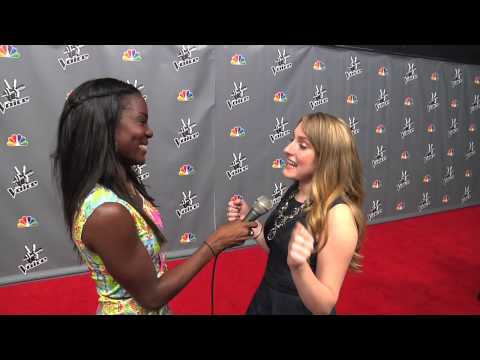 Caroline Pennell The Voice Top 10 Press Screening Interview