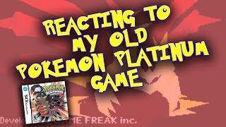 Reacting To My Old Pokemon Platinum Game!