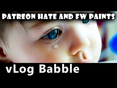 Hate on Patreon and Forge World Airbrushing Paints