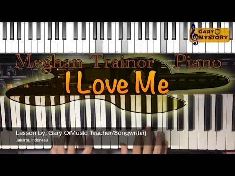 I Love Me - Meghan Trainor ft. LunchMoney Lewis NEW Song Cover Easy Piano Tutorial FREE Sheet