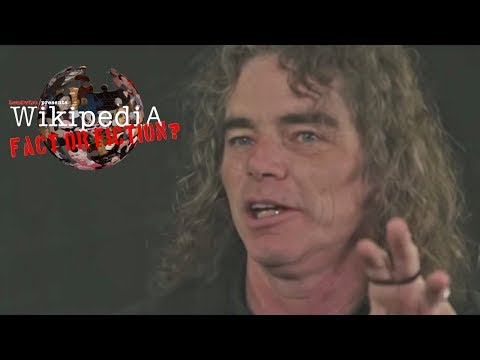 Overkill's Bobby Blitz - Wikipedia: Fact or Fiction?