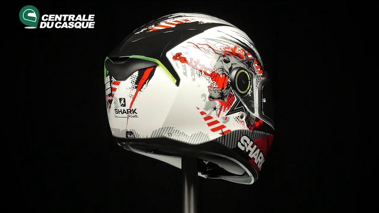 360 Shark Skwal Switch Riders White Wkr Centrale Du Casquecom