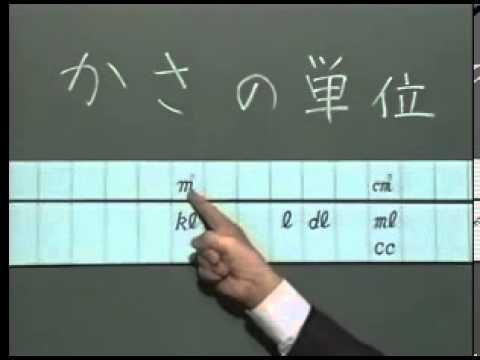 かさと体積容積単位の換算表 S5s0304