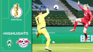 Cup madness! Forsberg last second hero | Werder Bremen vs. Leipzig 1-2 OT | Highlights | DFB-Pokal
