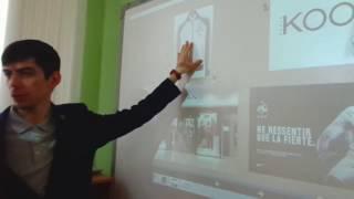 Фрагмент урока французского языка в 7 классе. Учитель Ещенко Вадим Николаевич.