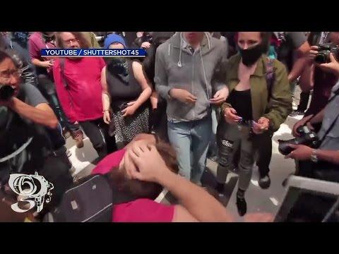 Bay Area Professor Arrested For Assault During Berkeley Trump Melee