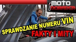 Sprawdzanie numeru VIN - FAKTY I MITY #282 MOTO DORADCA