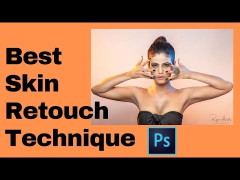 Skin retouching  II Best Technique in Photoshop which i use II Photoshop tutorial thumbnail