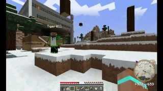 """Minecraft Выживание на сервере с модами # 1 - """"В поисках дома"""""""