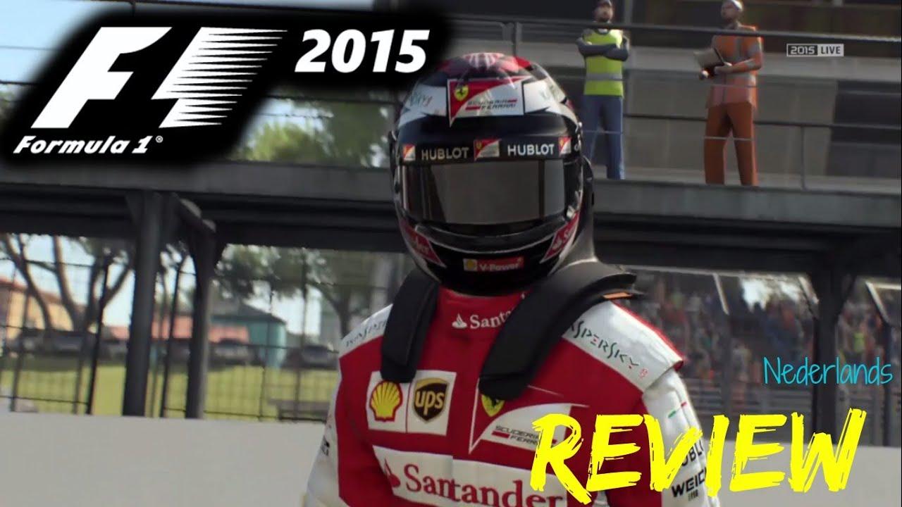 F1 2015 - Review - Moet je het spel kopen? - Nederlands - YouTube