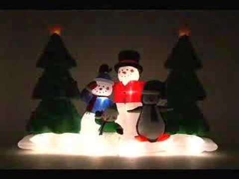 Gemmy Holiday Light Show