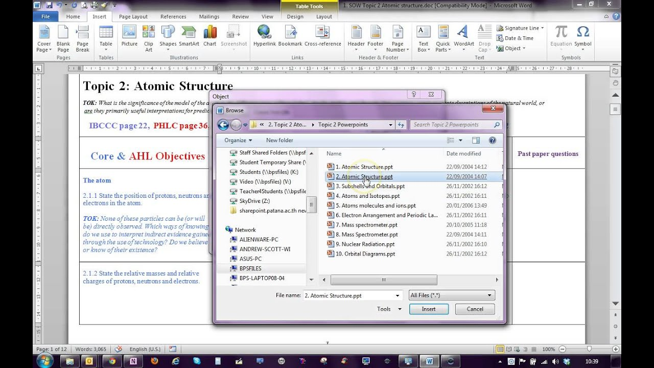 How to embed files into a word document youtube ccuart Images