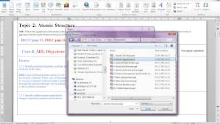 how to embed files into a word document