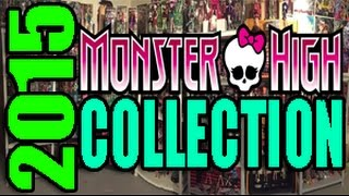 Monster High Collection Update 2015