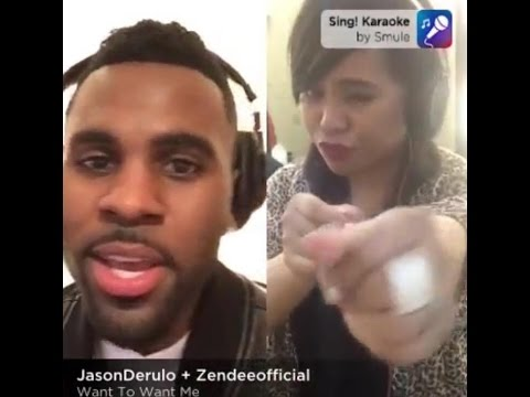 (SMULE) Want To Want Me by: Jason Derulo and Zendee