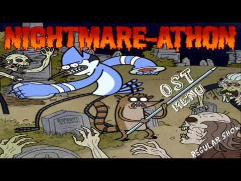 Regular Show Nightmare-Athon SoundTrack Menu - HD