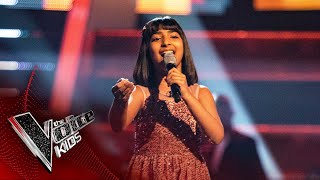 Aadya Performs 'Cheap Thrills / Pehli Nazar Mein' | Blind Auditions | The Voice Kids UK 2020