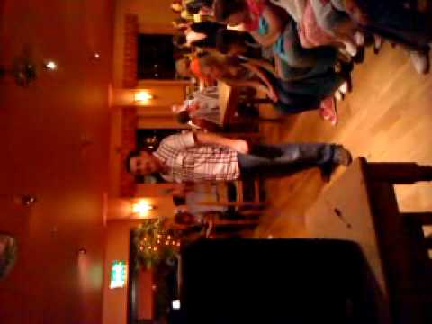 Karaoke Adi Jones New Quay West Wales LOL.