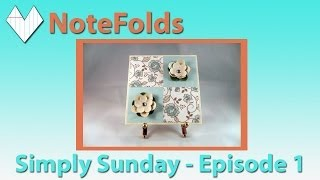 Card Making - Simply Sunday Episode 1