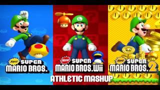 ☆ ✶ New Super Mario Bros. 2 Music - Athletic Mashup ☆ ✶