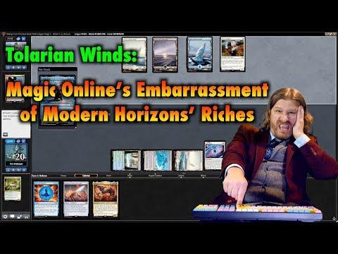 Tolarian Winds: MtGO's Embarrassment of Modern Horizon's
