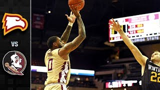 Winthrop vs. Florida State Basketball Highlights (2018-19)